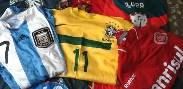 Goiânia recebe encontro de colecionadores de camisas de futebol ... 83095d1ec2005