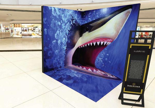 Expo Ilusão de Ótica com imagens interativas e painéis em 3D chega a  Uberlândia ebf382cb9f