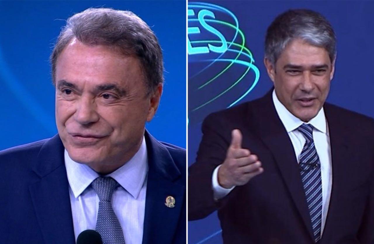 Em debate da Globo  Álvaro Dias tieta William Bonner e4f8614df36b0