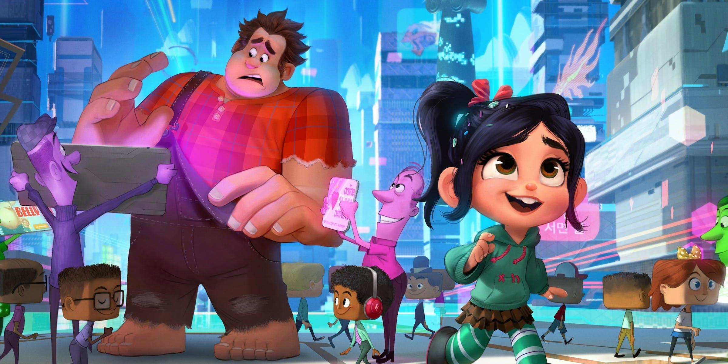 Resultado de imagem para WiFi Ralph – Quebrando a Internet: novo trailer da sequência de animação da Disney