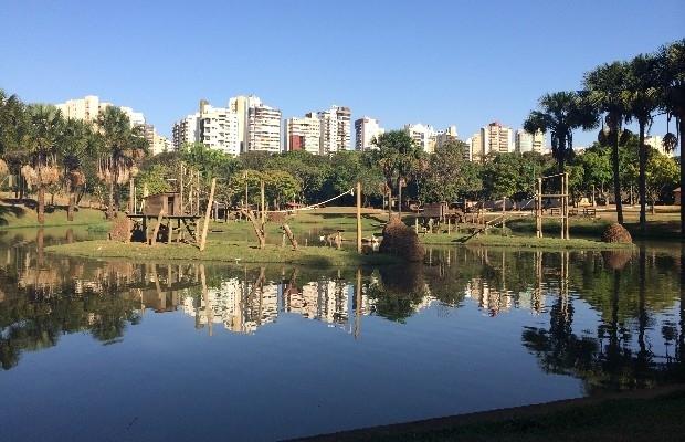Resultado de imagem para parque lago das rosas