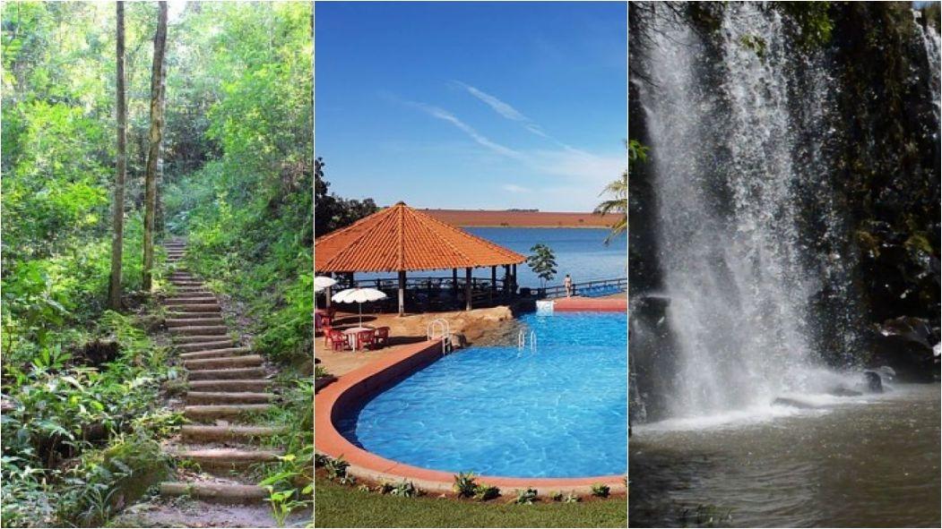 214ef9fb4 Confira lugares com cachoeiras, trilhas, lagos e parques aquáticos para  refrescar no calor