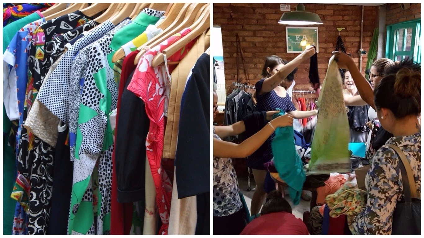 99ad80a191c Desapegados de Uberlândia vão vender suas peças de roupa novas ou usadas  por um precinho que não dói no bolso