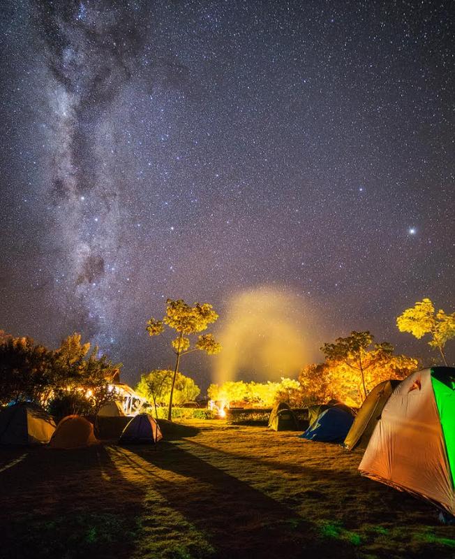 Fotos: Rafael Defavari / Camping PachaMama