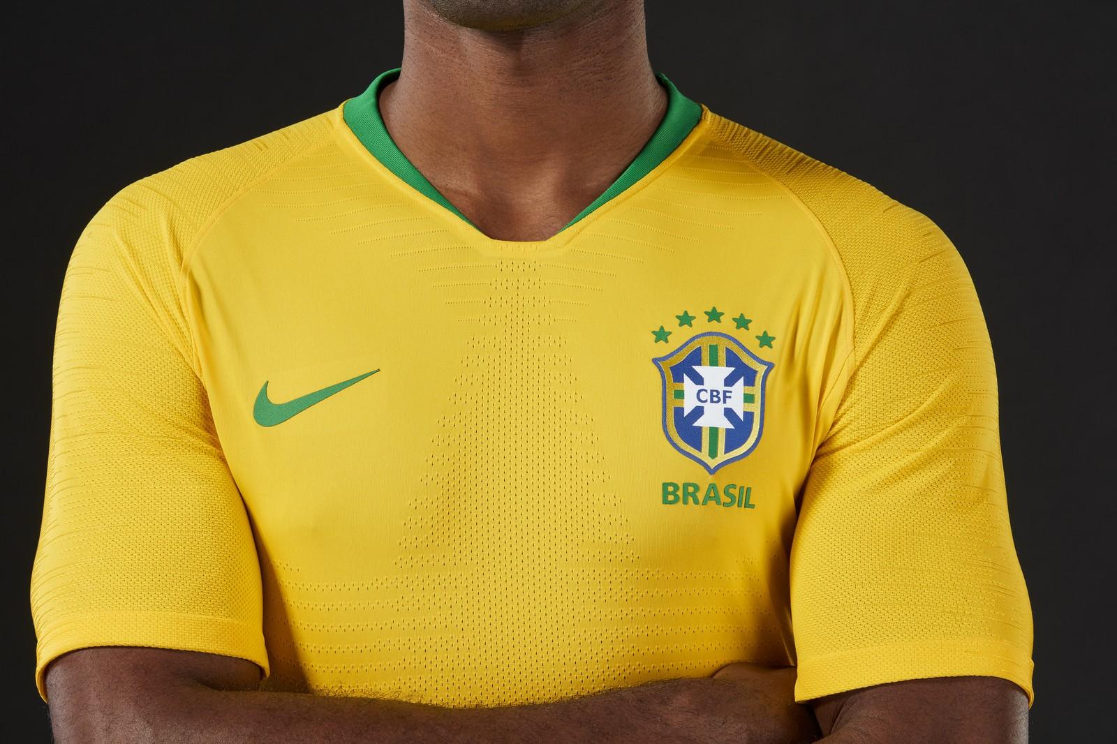 90c022251c CBF divulga a camisa oficial da Seleção Brasileira para a Copa do ...