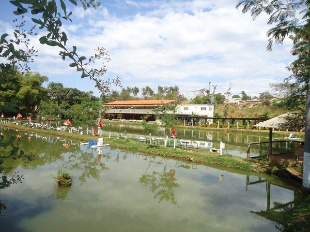 Pesque pague em Goiânia: Clube de Pesca Água Verde