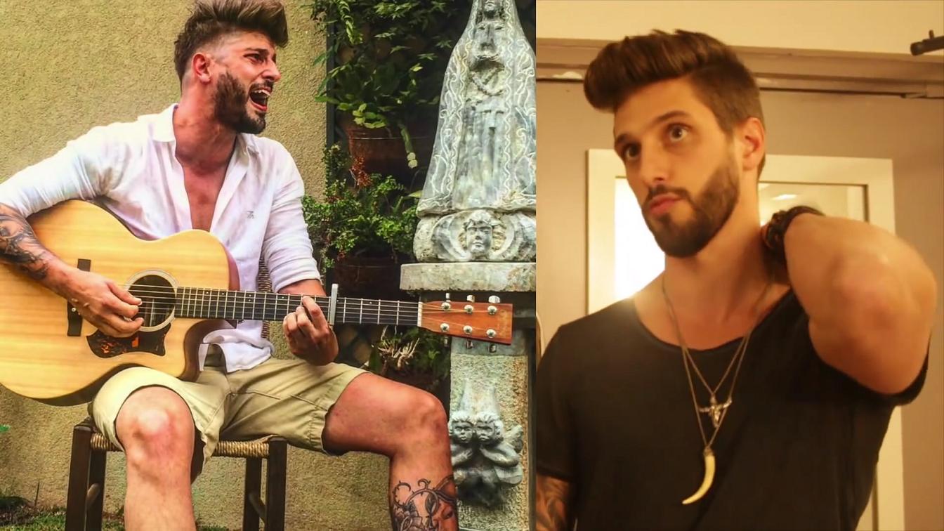 Cantor Todo Tatuado Brasileiro confira as tatuagens de alguns dos cantores sertanejo mais