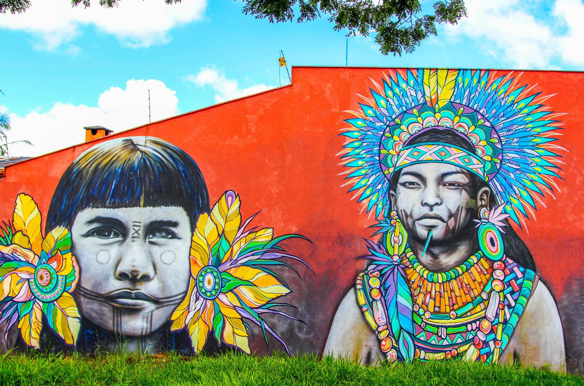 Mural decy graffiti goiânia