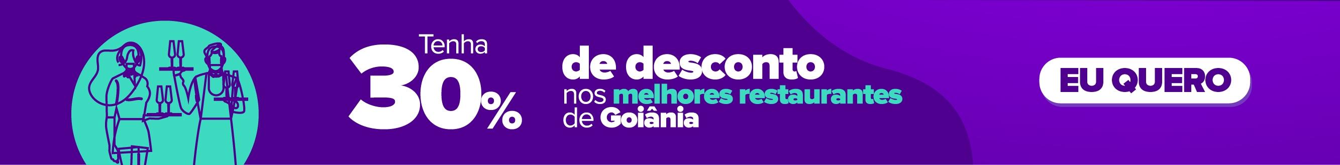 Clube Curta Mais - Melhores Restaurantes de Goiânia com 30% de desconto