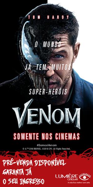 Venom Filme Cinema Lumière Goiânia