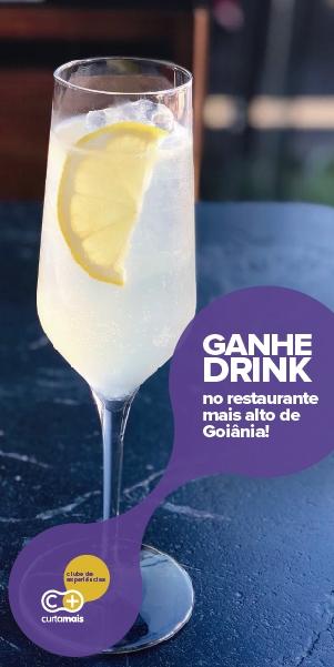 Ganhe um Drink no Grá Bistrô e Rooftop em Goiânia