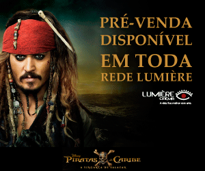 Lumiere Piratas do Caribe Pré-venda