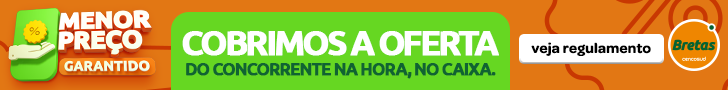 BRETAS MENOR PREÇO