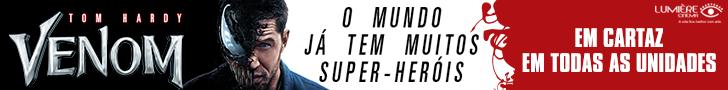 Venom cinema Lumière em Goiânia
