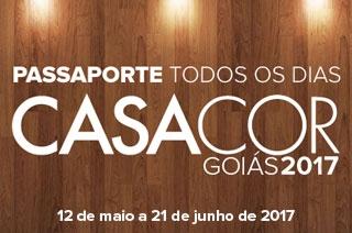 Passaporte para todos os dia com desconto para a Casa Cor Goiás 2017 em Goiânia