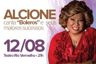 Alcione faz show em Goiânia, dia 12 de agosto com ingressos promocionais aqui.