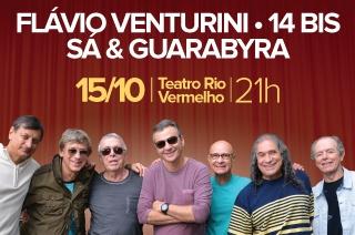 NOVA DATA! Dia 15 de OUTUBRO às 21h no Teatro Rio Vermelho.
