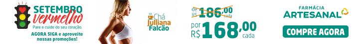 Chá Julliana Galvão Farmácia Artesanal