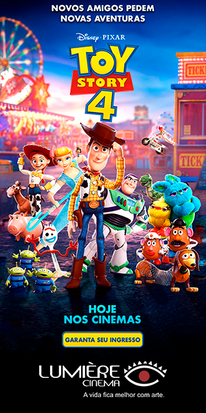 Toy Story 4 nos Cinemas Lumière