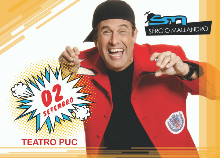 Desconto Stand up Comedy Sérgio Mallandro