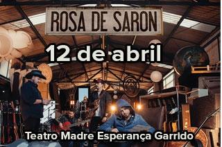 Rosa de Saron apresenta a nova turnê, Essencial, em Goiânia