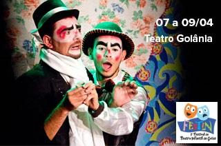 Goiânia recebe o I FESTIN GOIÁS (Festival de Teatro Infantil de Goiás) com espetáculos a preços populares