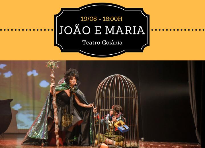 Desconto Espetáculo João e Maria