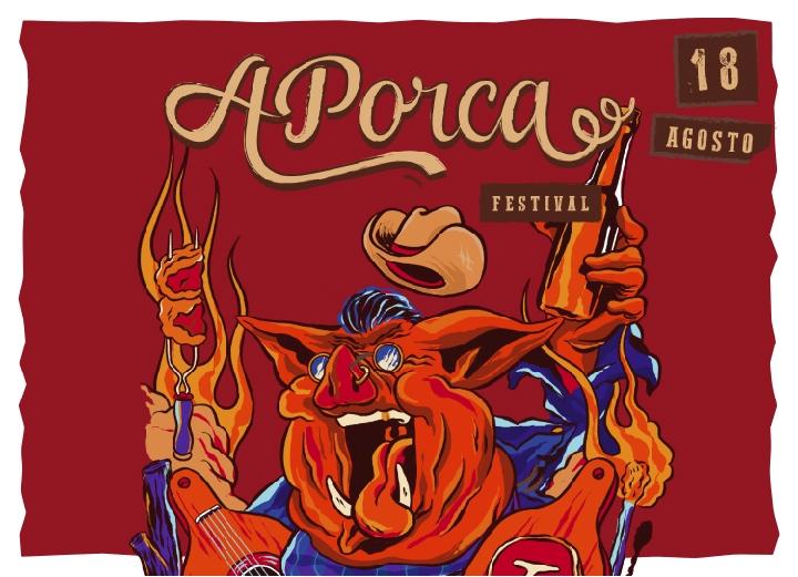 Ingresso com desconto exclusivo para o festival APorca