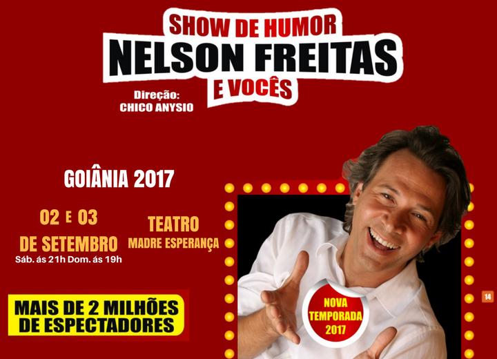 Desconto Stand-Up Nelson Freitas e Você
