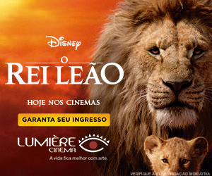 Lumiere Rei Leão arroba Julho