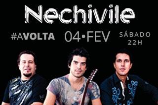 Banda Nechivile traz pra Goiânia show de retorno da banda com sua formação original