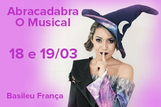 Abracadabra, O Musical chega a Goiânia num espetáculo cheio de magia trazendo personagens clássicos dos contos de fadas