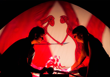 Teatro de Sombras narra a lenda da sereia Iara