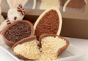 10 lugares em Goiânia para comprar ovos de Páscoa Gourmet