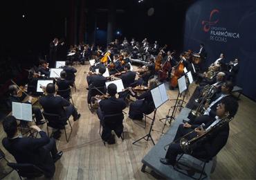 Violonista brasileiro Fábio Zanon se apresenta com a Filarmônica de Goiás