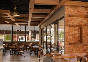 Conheça por dentro o novo Burger King Garden Grill Goiânia
