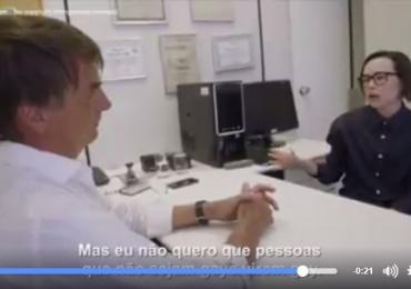 Atriz Ellen Page confronta pessoalmente Jair Bolsonaro em documentário sobre homofobia; vídeo