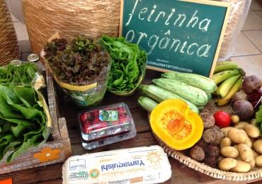 Feirinha reúne produtos orgânicos, música e comidinhas em Goiânia