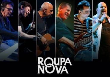 Roupa Nova celebra 30 anos de carreira com show especial na capital