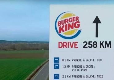 Burguer King responde McDonald's com novo vídeo do outdoor da discórdia