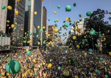 Protestos deste domingo (13/03/2016) foram os maiores da história do Brasil, diz Datafolha
