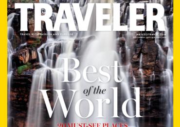 Salto de Corumbá, a 115km de Goiânia, é capa da maior revista de viagens do mundo