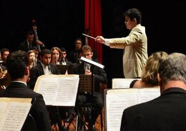 Banda Sinfônica de Goiás se apresenta no Teatro SESI