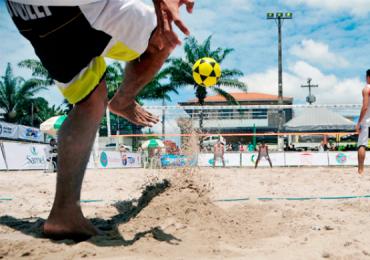 Goiânia ganha praia artificial e campeonato de futevôlei