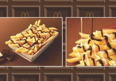 Batata Frita com Chocolate  é a novidade do cardápio do Mc Donald's