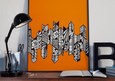 Charmosa cafeteria de Goiânia recebe exposição de artes visuais