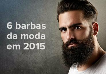 6 tipos de barbas que estão fazendo sucesso em 2015