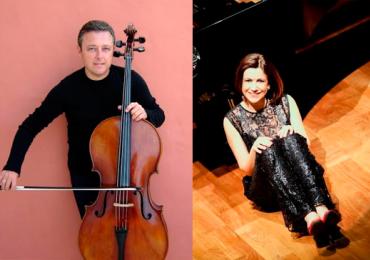 Violoncelista italiano encontra pianista goiana em recital na UFG
