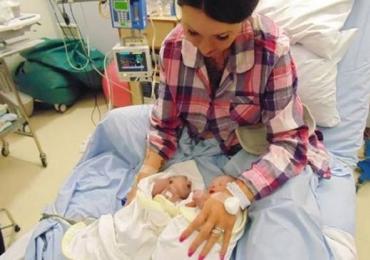 A emocionante história do bebê que viveu 2 horas e salvou 2 vidas
