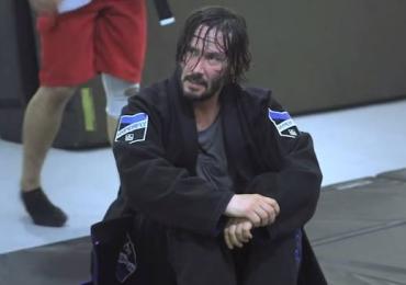 Keanu Reeves aprendeu Jiu-Jitsu para filme e decidiu continuar